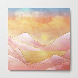 landscape in pastels Metal Print