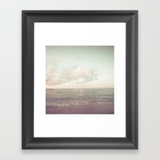 calm day ver.vintage Framed Art Print