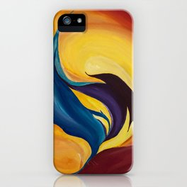 fraction iPhone Case