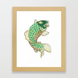 Koi Japanese Collection Framed Art Print