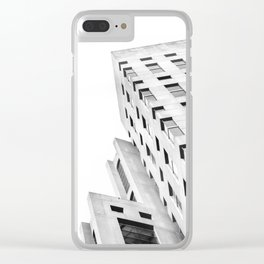 Sharp Edges Clear iPhone Case