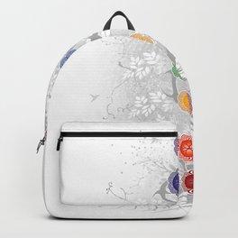 Chakra Tree Art Backpack