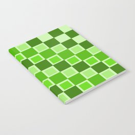 Green Blocked Notebook