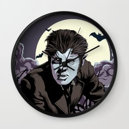 Wolfman Wall Clock