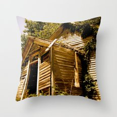 Go to School Throw Pillow