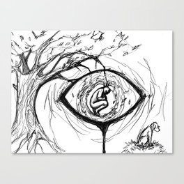 nature's eye Canvas Print