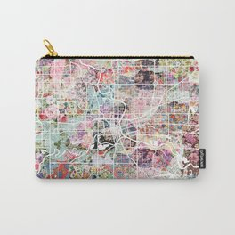 Des Moines map Carry-All Pouch