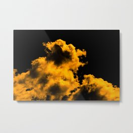 A little touch of bitterness (all yellow) Metal Print
