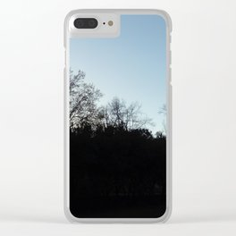 Nature, landscape and twilight 2 Clear iPhone Case