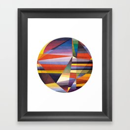 You Were Trying Too Hard Framed Art Print
