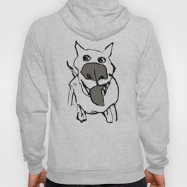 Ciydog - warm gray Hoody