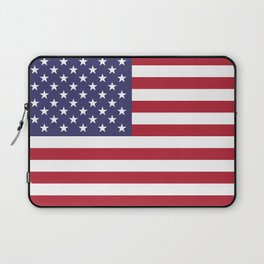 National flag of the USA - Authentic G-spec scale & colors Laptop Sleeve
