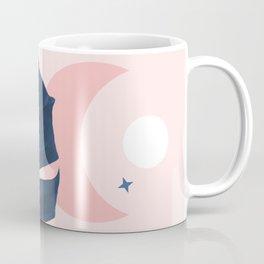 Mystic Monstera & Moon Coffee Mug