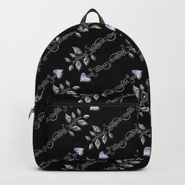 Tribal Arrows Black Backpack