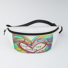 Love One Another John 13:34 Fanny Pack