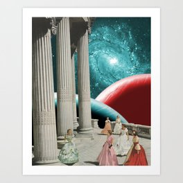 Cosmic Cotillion Art Print