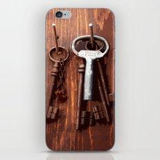 vintage key iPhone & iPod Skin