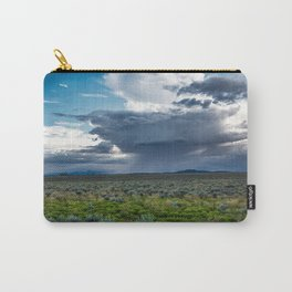 Desert Rain - Summer Thunderstorms Near Taos New Mexico Carry-All Pouch