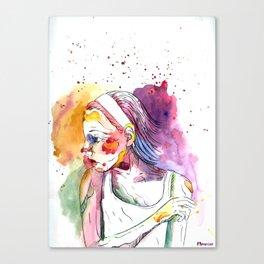 Over My Shoulder #2 Canvas Print
