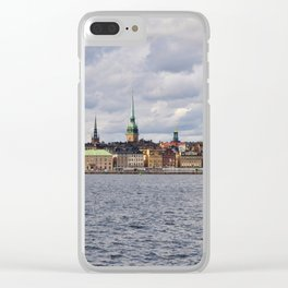 Stockholm - Gamla Stan Clear iPhone Case