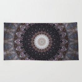 Suki (Space Mandala) Beach Towel