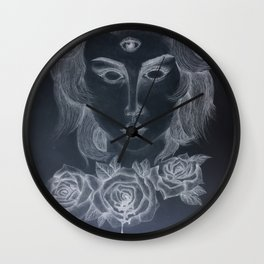 humanities eye (2) Wall Clock
