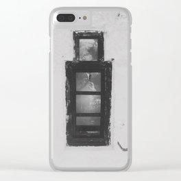 Strange Window Clear iPhone Case