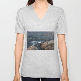 Swirling ocean Unisex V-Neck