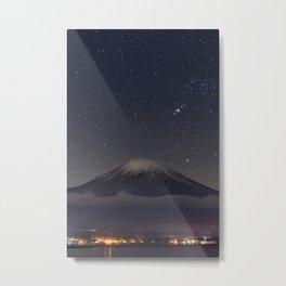 Tokyo City  Metal Print