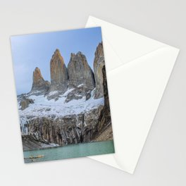 The Base of the Towers II | Torres del Paine National Park, Patagonia Stationery Cards