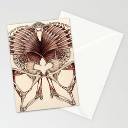 OUTSIDE: Invented Anatomy Stationery Cards