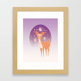 The Doe Framed Art Print