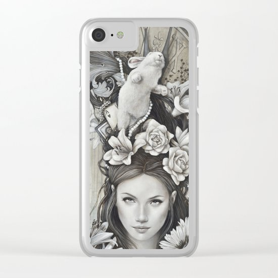 Le rêve d'Alice Clear iPhone Case