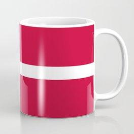 The flag of danmark Coffee Mug