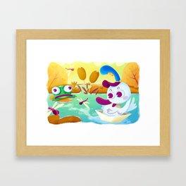 Sweet Seasons - Summer Framed Art Print