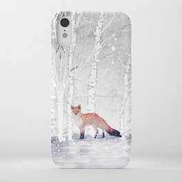 FOX FOX FOX iPhone Case