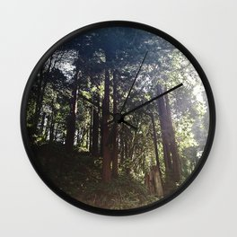 Redwoods Secret Staircase Wall Clock