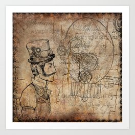The Conductor Art Print