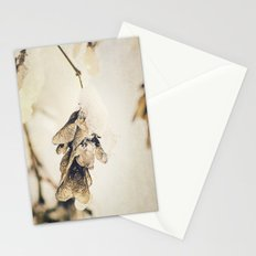 Ice on the wings Stationery Cards
