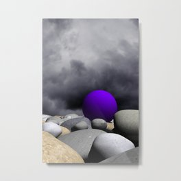 lost somewhere -1- Metal Print