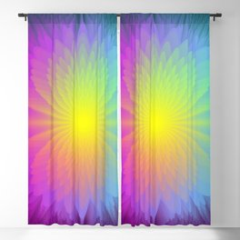 Color Therapy Blackout Curtain