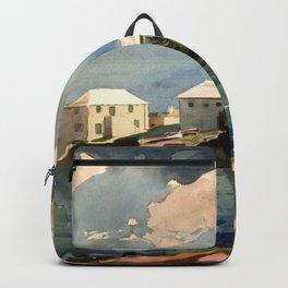 Salt Kettle Bermuda 1899 By WinslowHomer | Reproduction Backpack