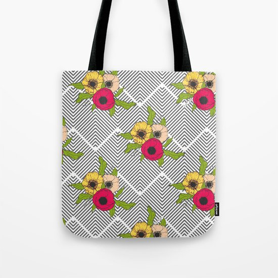 Geometric Garden #society6 #decor #buyart Tote Bag