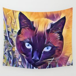 Here Kitty Kitty Kitty Wall Tapestry