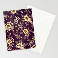 VINTAGE FLOWERS VIII - for iphone Stationery Cards