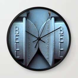 Bell Cover Wall Clock