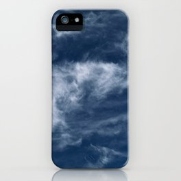 Cirrus Clouds 2 iPhone Case