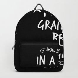 In A Full Of Grandmas Be a Gigi Backpack