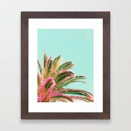 Fiesta palms Framed Art Print