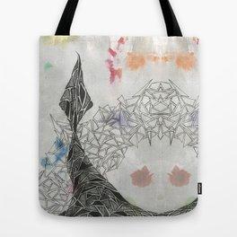 Black Tail Tote Bag